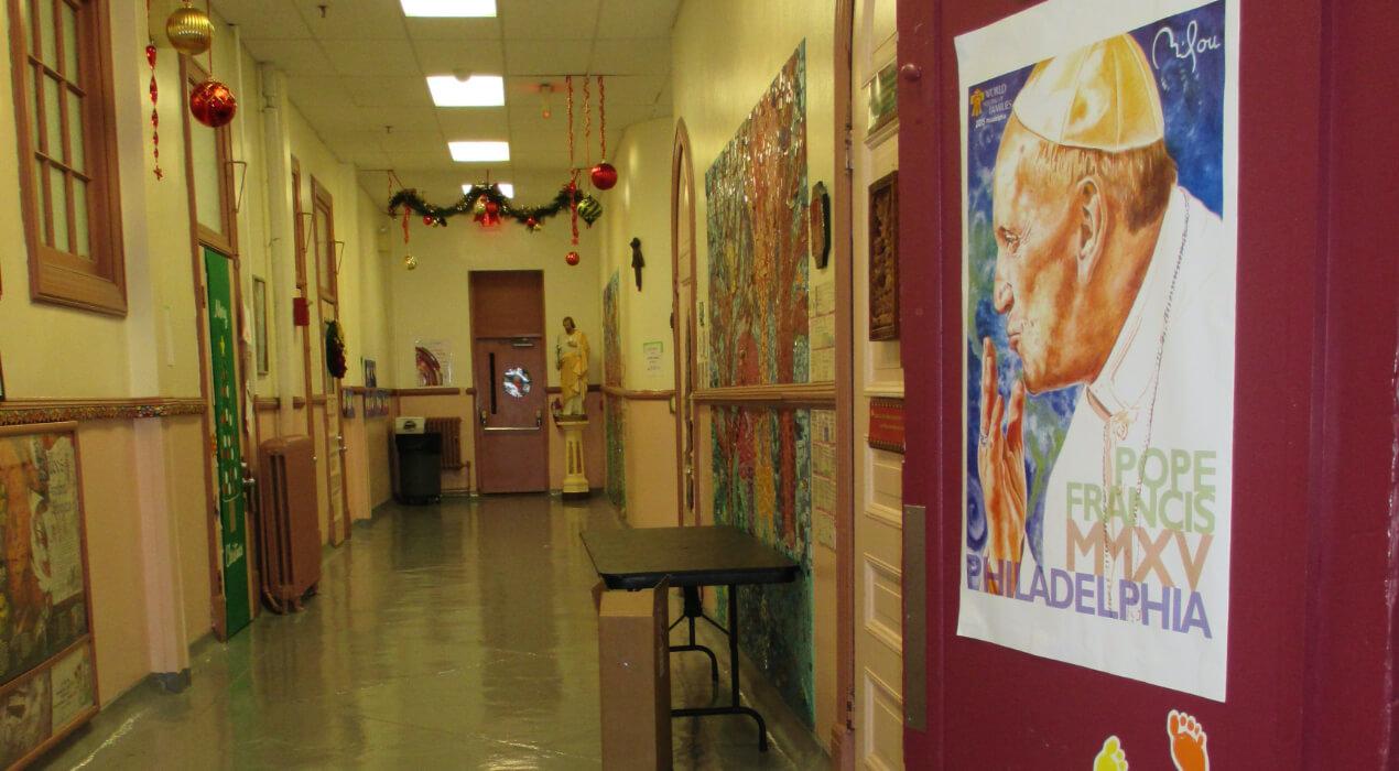 St. Martin de Porres hallway