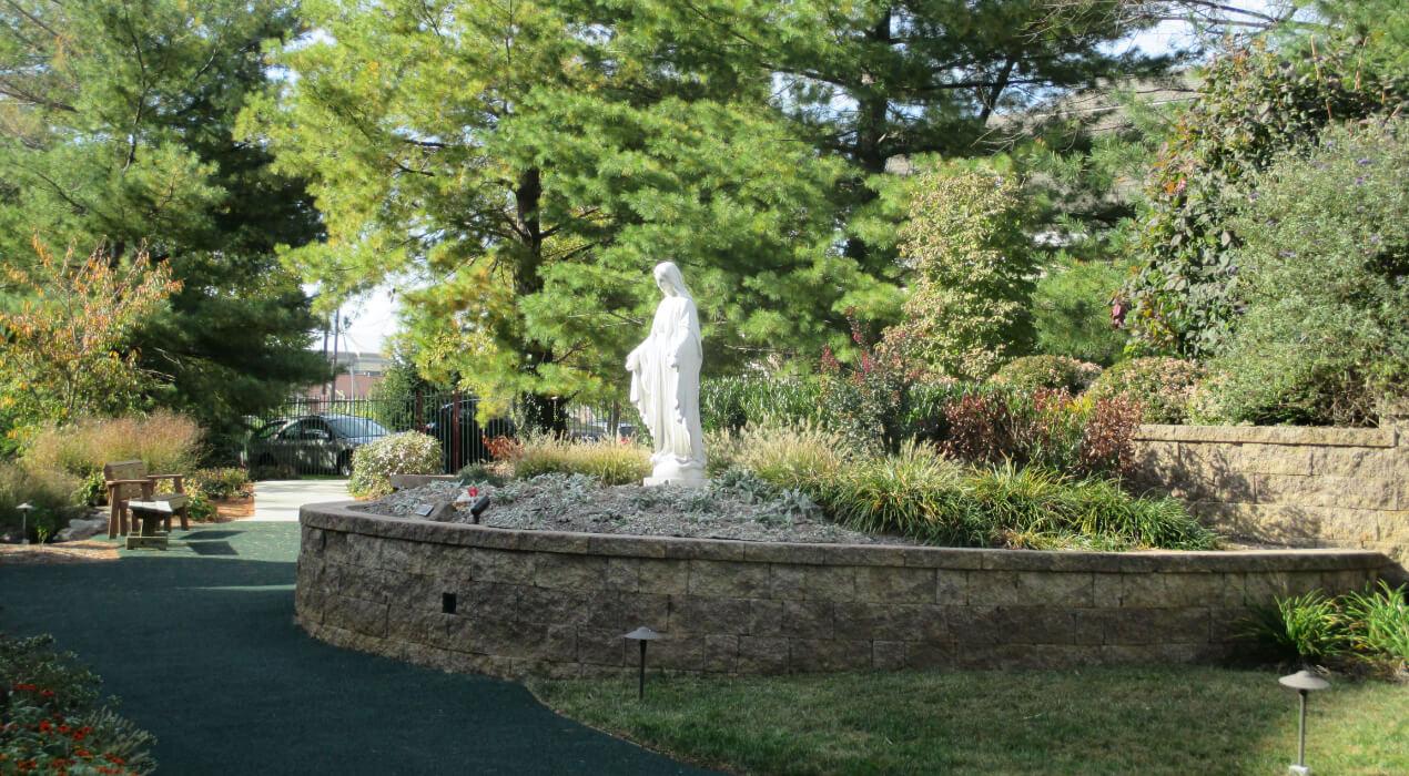 St. Ignatius Nursing and Rehab entrance outside