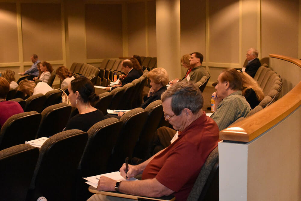Attendees at the Spring Philanthropic Workshop Series